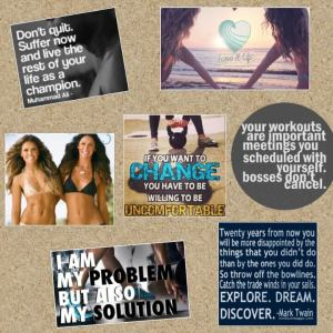 This week we were given the task of creating a vision board. Here is mine! Check out more on my pinterest: https://www.pinterest.com/carollsng27/fitness-motivation/